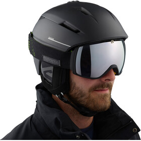 Salomon XT One Gafas de esquí, black neon